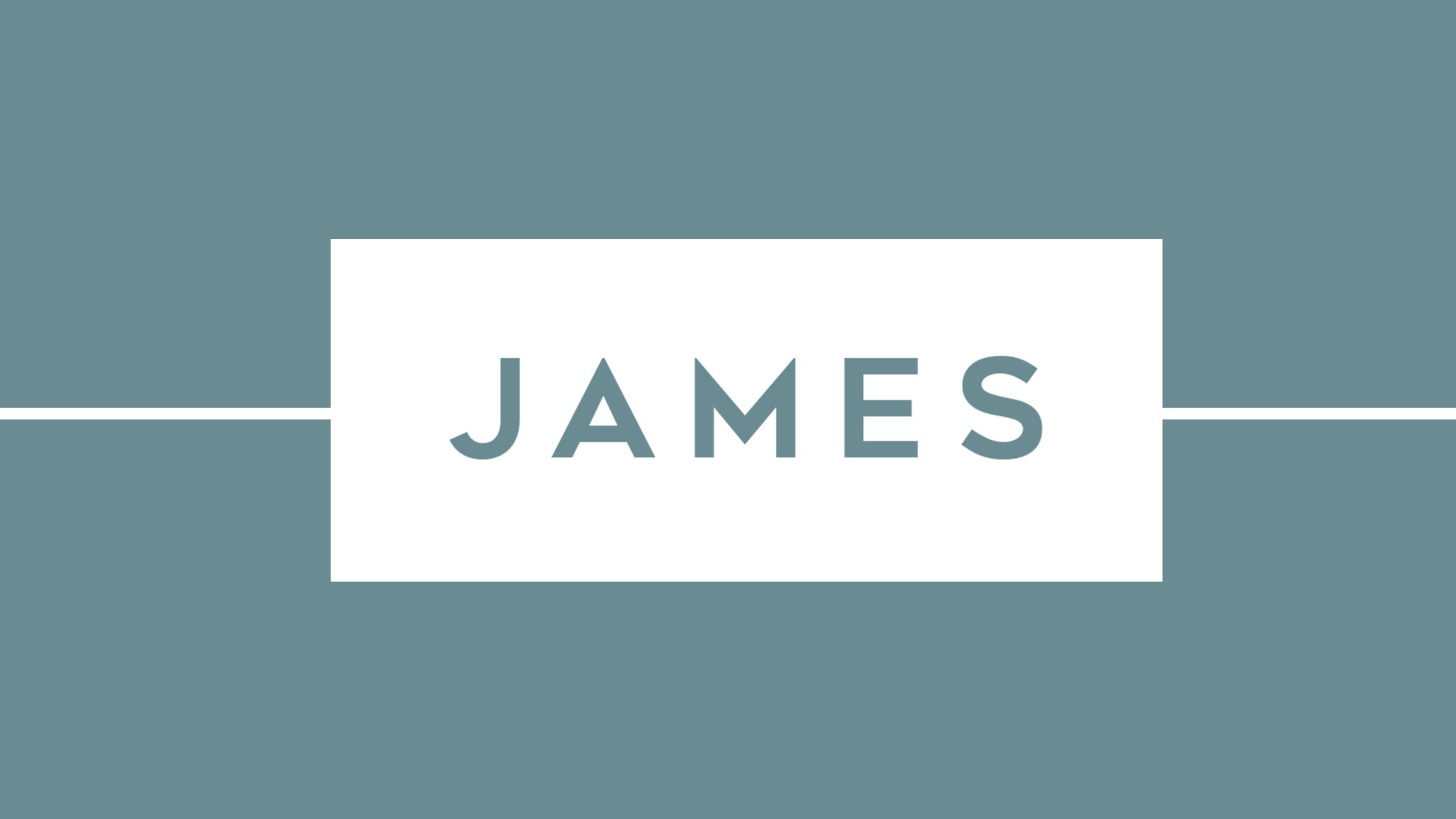 James Chapter 5 – Men