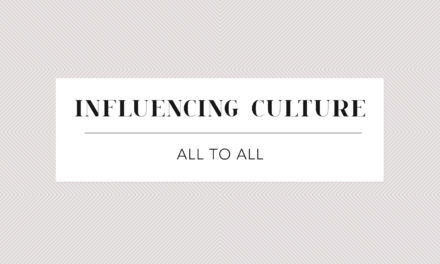 Influencing Culture – All to All