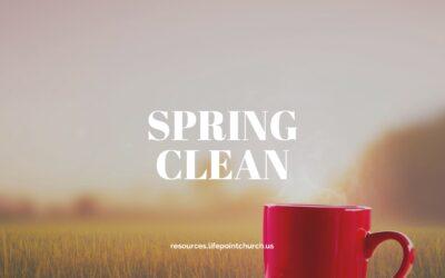 A Mental Spring Clean