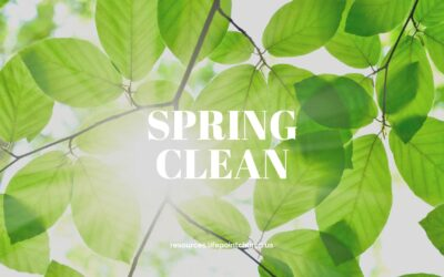 A Spring Clean At Home
